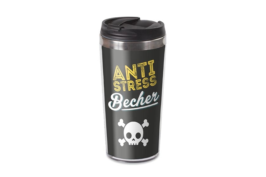 Kunter Buntes Thermobecher La Vida Anti Stress Coffee To Go